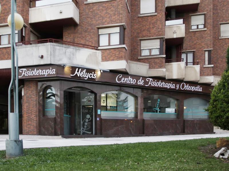 Fachada centro fisioterapia Hélycis