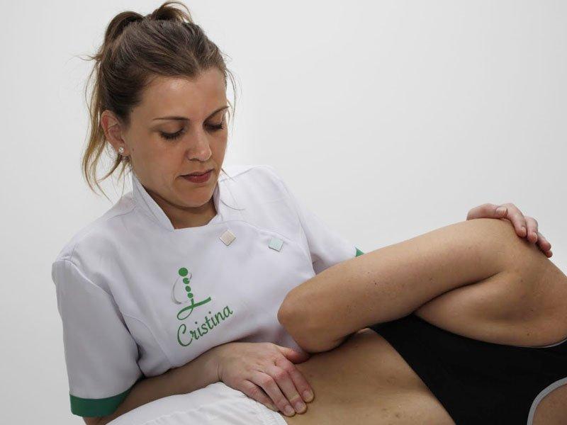 Tratamiento Osteopatía - Cristina - Hélycis